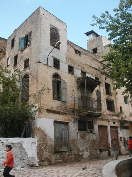 Mellah, face arrière de la maison des Rabbins