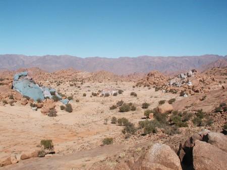 Les rochers peints de Jean Vérame - 2007