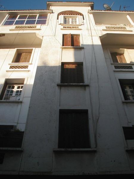 Immeuble rue Mostapha el Maani, façade